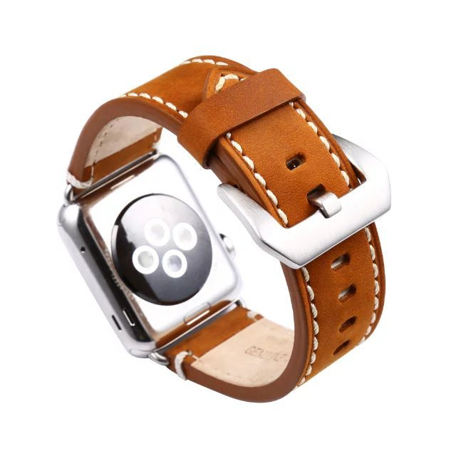 Cowboy Genuine Leather Watch Band